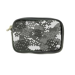 Pixel White Urban Camouflage Pattern Coin Purse