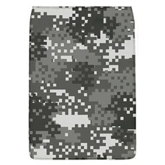 Pixel White Urban Camouflage Pattern Flap Covers (L)