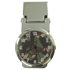 Woodland Camo Pattern Money Clip Watches