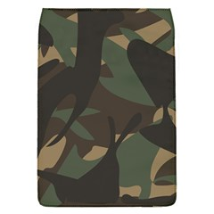Woodland Camo Pattern Flap Covers (S)