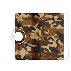 Brown Camo Pattern Kindle Fire HDX 8.9  Flip 360 Case