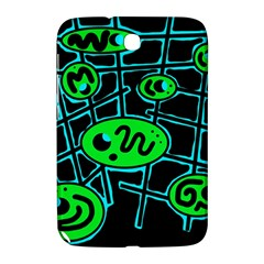 Green And Blue Abstraction Samsung Galaxy Note 8 0 N5100 Hardshell Case