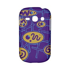 Purple and yellow abstraction Samsung Galaxy S6810 Hardshell Case