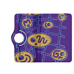 Purple and yellow abstraction Kindle Fire HDX 8.9  Flip 360 Case