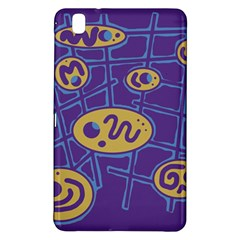 Purple and yellow abstraction Samsung Galaxy Tab Pro 8.4 Hardshell Case