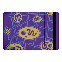 Purple and yellow abstraction Samsung Galaxy Tab Pro 10.1  Flip Case