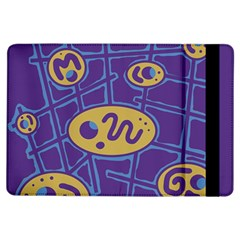 Purple and yellow abstraction iPad Air Flip