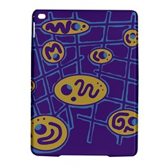 Purple and yellow abstraction iPad Air 2 Hardshell Cases