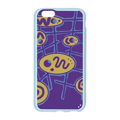 Purple and yellow abstraction Apple Seamless iPhone 6/6S Case (Color)