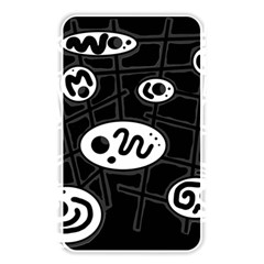 Black and white crazy abstraction  Memory Card Reader