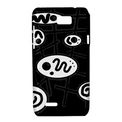 Black and white crazy abstraction  Motorola XT788