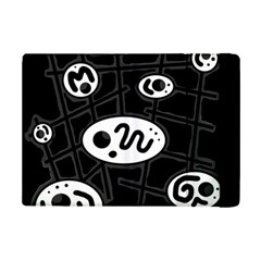 Black and white crazy abstraction  iPad Mini 2 Flip Cases