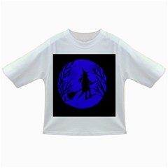 Halloween witch - blue moon Infant/Toddler T-Shirts