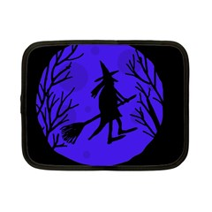 Halloween witch - blue moon Netbook Case (Small)