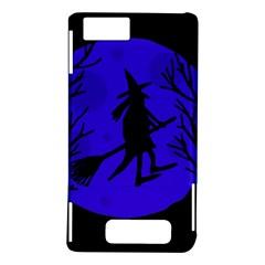 Halloween witch - blue moon Motorola DROID X2