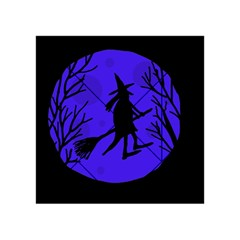 Halloween witch - blue moon Acrylic Tangram Puzzle (4  x 4 )