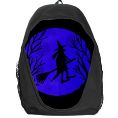 Halloween witch - blue moon Backpack Bag