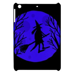Halloween witch - blue moon Apple iPad Mini Hardshell Case