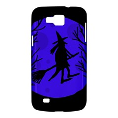 Halloween witch - blue moon Samsung Galaxy Premier I9260 Hardshell Case