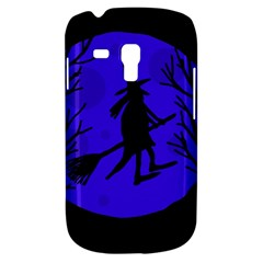 Halloween witch - blue moon Samsung Galaxy S3 MINI I8190 Hardshell Case