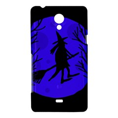 Halloween witch - blue moon Sony Xperia T