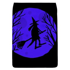 Halloween witch - blue moon Flap Covers (S)