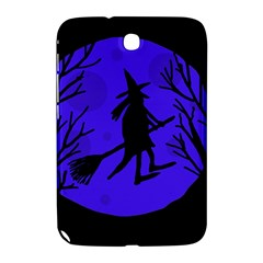 Halloween Witch   Blue Moon Samsung Galaxy Note 8 0 N5100 Hardshell Case