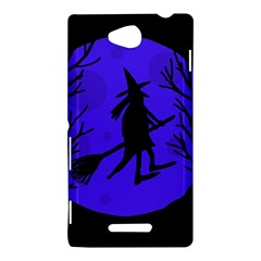 Halloween witch - blue moon Sony Xperia C (S39H)