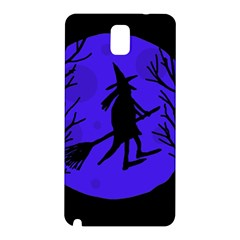 Halloween witch - blue moon Samsung Galaxy Note 3 N9005 Hardshell Back Case