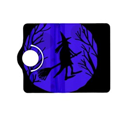 Halloween witch - blue moon Kindle Fire HD (2013) Flip 360 Case