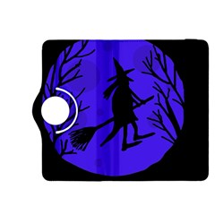 Halloween witch - blue moon Kindle Fire HDX 8.9  Flip 360 Case
