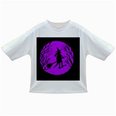 Halloween witch - Purple moon Infant/Toddler T-Shirts