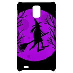 Halloween witch - Purple moon Samsung Infuse 4G Hardshell Case