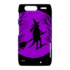 Halloween witch - Purple moon Motorola Droid Razr XT912