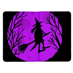 Halloween witch - Purple moon Kindle Fire (1st Gen) Flip Case