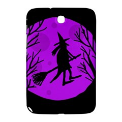 Halloween witch - Purple moon Samsung Galaxy Note 8.0 N5100 Hardshell Case