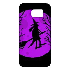 Halloween witch - Purple moon Galaxy S6