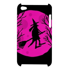 Halloween witch - pink moon Apple iPod Touch 4