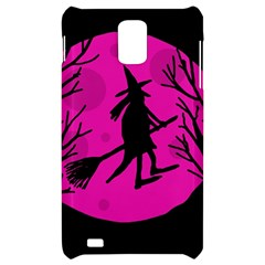 Halloween witch - pink moon Samsung Infuse 4G Hardshell Case
