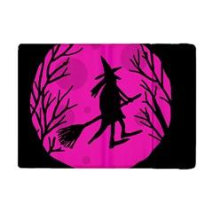 Halloween witch - pink moon Apple iPad Mini Flip Case