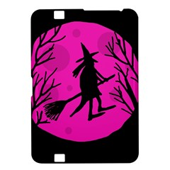 Halloween witch - pink moon Kindle Fire HD 8.9
