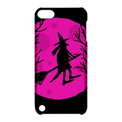 Halloween witch - pink moon Apple iPod Touch 5 Hardshell Case with Stand