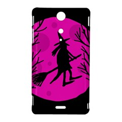 Halloween witch - pink moon Sony Xperia TX