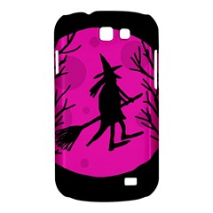 Halloween witch - pink moon Samsung Galaxy Express I8730 Hardshell Case