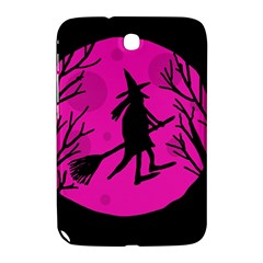 Halloween witch - pink moon Samsung Galaxy Note 8.0 N5100 Hardshell Case