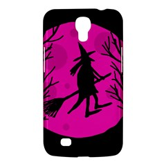 Halloween witch - pink moon Samsung Galaxy Mega 6.3  I9200 Hardshell Case