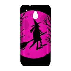 Halloween witch - pink moon HTC One Mini (601e) M4 Hardshell Case
