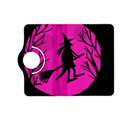 Halloween witch - pink moon Kindle Fire HD (2013) Flip 360 Case