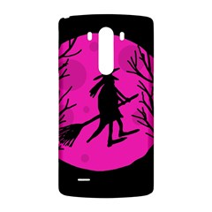 Halloween witch - pink moon LG G3 Back Case