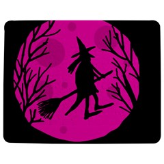 Halloween witch - pink moon Jigsaw Puzzle Photo Stand (Rectangular)